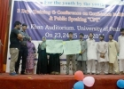 Workshop at University of Peshawar